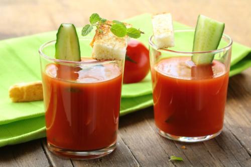 Como puedo hacer gazpacho andaluz