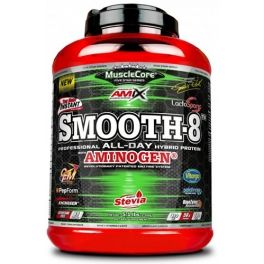 Amix MuscleCore Smooth 8 Hybrid Protein 2.3 kg Sabor Doble-Chocolate