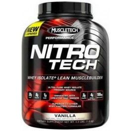 Muscletech Nitro Tech Performance Series 1,8 kg (4 lbs) Sabor Chocolate